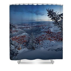 Christmas Light Shower Curtain