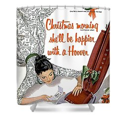 Christmas Morning She Will Be Happier With A Hoover Shower Curtain