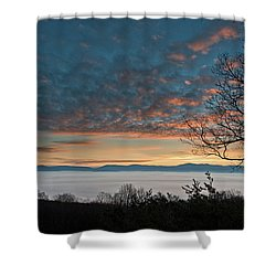 Christmas Morning Sunrise 2016 Shower Curtain