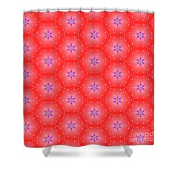 Christmas Pattern Shower Curtain