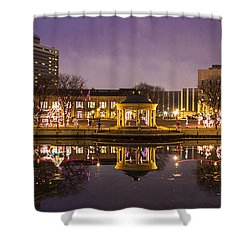 Christmas Reflections  Shower Curtain