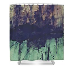Christmas Shopping Shower Curtain