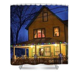 Christmas Story House Shower Curtain