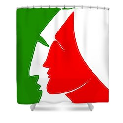 Christmas Together 2 Shower Curtain