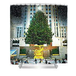 Christmas Tree 2015 Shower Curtain