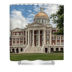 Christopher Newport Hall Shower Curtain