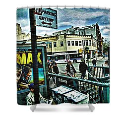 Christopher Street Greenwich Village  Shower Curtain