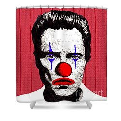 Christopher Walken 2 Shower Curtain