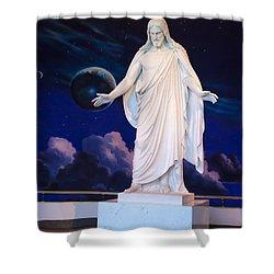 Christus Shower Curtain