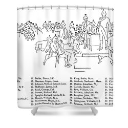 Christy: U.s. Constitution Shower Curtain by Granger