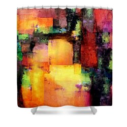 Chroma  Shower Curtain