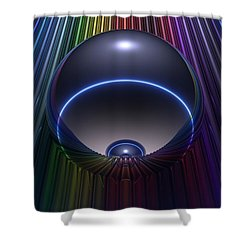 Chroma Shower Curtain by Lyle Hatch