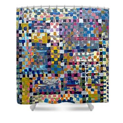 Chromatic Indulgence Shower Curtain