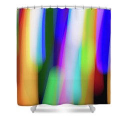 Chromatism Shower Curtain