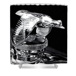 Chrome In Flight Shower Curtain