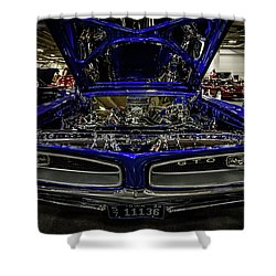 Chromed Goat Shower Curtain by Randy Scherkenbach