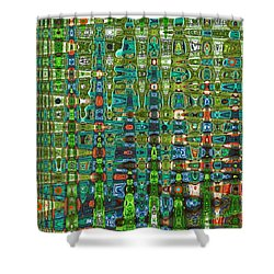 Shower Curtain featuring the photograph Chromosome 22 by Diane E Berry