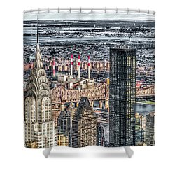 Chrysler Building And Other Stories Shower Curtain