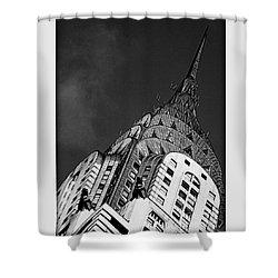 Chrysler Building's Apex Shower Curtain