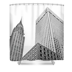 Chrystler Lofts Shower Curtain
