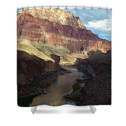 Chuar Butte Colorado River Grand Canyon Shower Curtain
