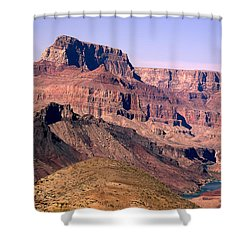 Chuar Butte  Grand Canyon National Park Shower Curtain