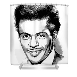 Chuck Berry 2 Shower Curtain