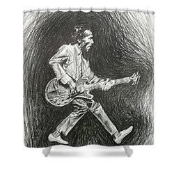 Chuck Berry Shower Curtain
