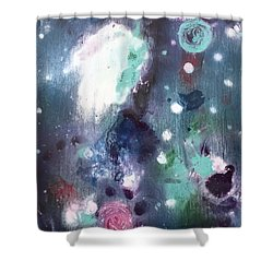 Chucks Orbit Shower Curtain