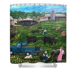Chumhurst Farm Shower Curtain