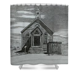 Church  At Bodie  Shower Curtain