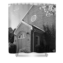 Church At Leith Shower Curtain by Susan  Dimitrakopoulos