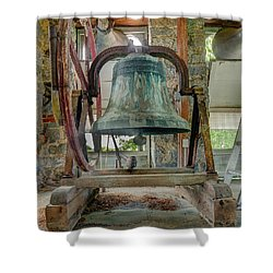 Church Bell 1783 Shower Curtain by Jim Proctor