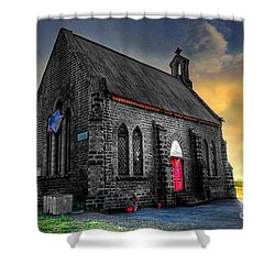 Church Shower Curtain by Charuhas Images