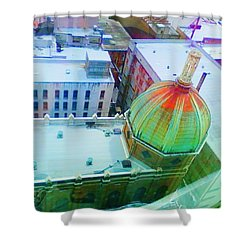 Church Dome II Shower Curtain