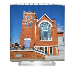 Church In Emmett Idaho Shower Curtain