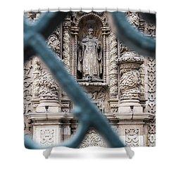 Church In Peru Shower Curtain