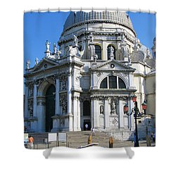 Church In Venice Shower Curtain