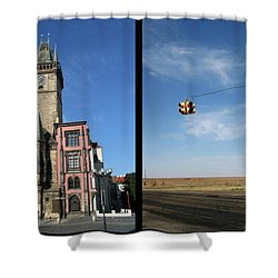 Church Shower Curtain by James W Johnson