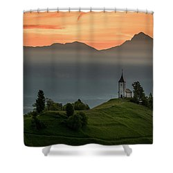 Church Jamnik Shower Curtain