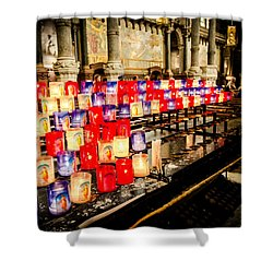 Shower Curtain featuring the photograph Church by Jason Smith