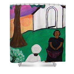 Church Ladies  Shower Curtain