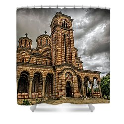 Church Of Saint Mark Shower Curtain