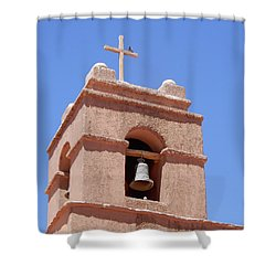 Church Of Socaire Shower Curtain