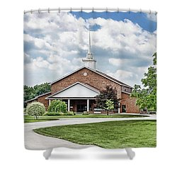 Church On Coldwater Shower Curtain