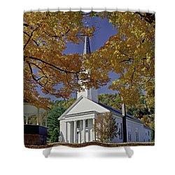 Church, Sharon Vermont Shower Curtain