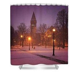 Church Sidewalk Shower Curtain