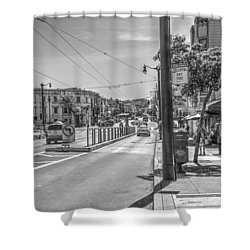 Church St At Market St San Francisco Shower Curtain