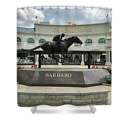 Churchill Downs Barbaro 2 Shower Curtain