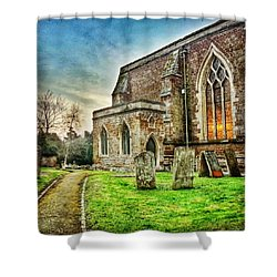 Churchyard Shower Curtain